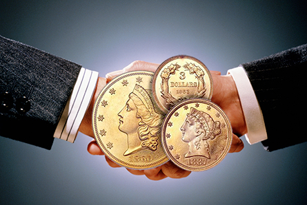 Million Dollar Handshakes in the Rare Coin Industry
