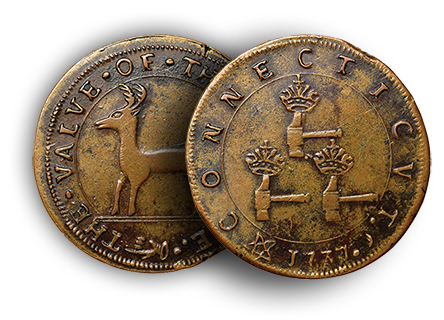 higleyct2 Colonial Coins: Higley Coppers Auctioned Over the Last Ten Years