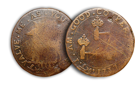 higleypleaseiagc Colonial Coins: Higley Coppers Auctioned Over the Last Ten Years