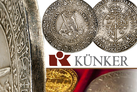 Top Prices Realized in Jubilee Auction Week at Künker Coin Auctions