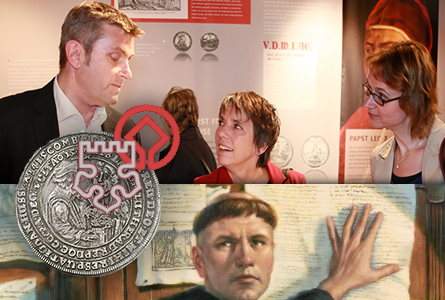 martin1 Protestant Reformation Coins and Medals on Display at Wartburg Museum