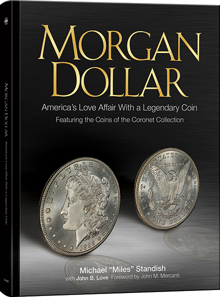morganb New Miles Standish Book Dishes on the Morgan Dollar