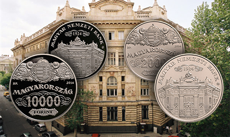 nationalbank1 Three New Commemorative Coins from Hungary Released