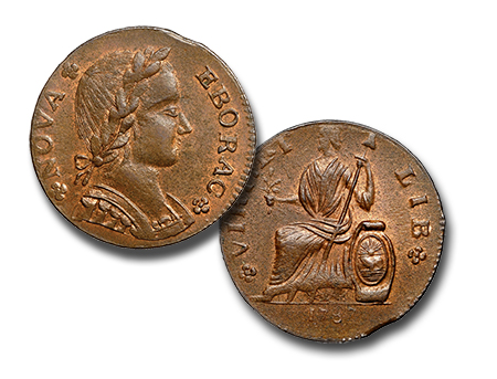 novaeboricum The Fabulous Eric P. Newman Collection, part 11: Auction Results for pre 1793 coins, patterns and tokens