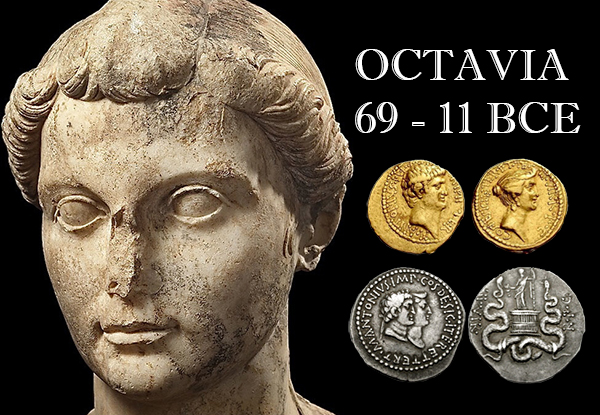 octavia Ancient Coin Insights: Real Roman Women on Coins