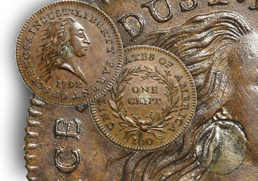 silvercent The Fabulous Eric P. Newman Collection, part 11: Auction Results for pre 1793 coins, patterns and tokens