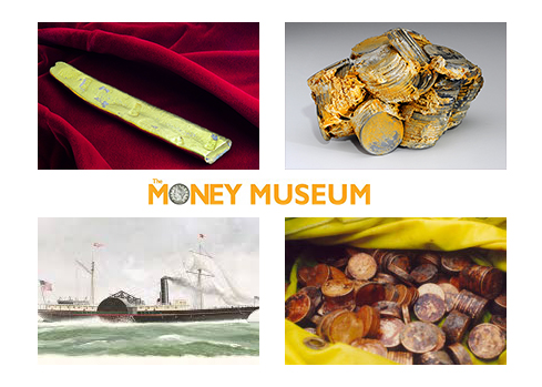sunkentreasure ANA Money Museum presents new exhibit: 'Treasures of the Deep'