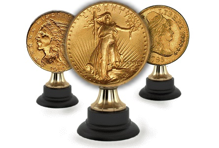 Top Ten U.S. Gold Trophy Coins and their Pitches
