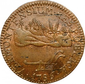 vermont 275x273 The Fabulous Eric P. Newman Collection, part 11: Auction Results for pre 1793 coins, patterns and tokens