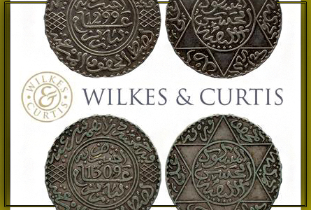 Islamic Coins Headline 1st Wilkes & Curtis Sale