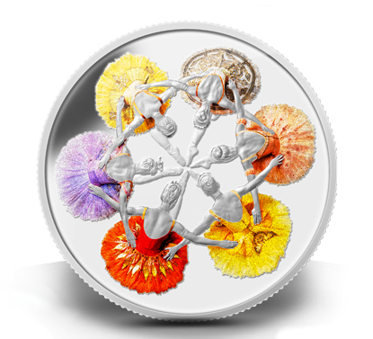 winnepeg 75th Anniversary of The Royal Winnipeg Ballet Coin Revealed