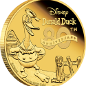 06 2014 Disney 80thAnniversary DonaldDuck Gold .25oz Proof OnEdge LowRes 125x125 New Zealand Mint Releases Donald Duck Collector Coins
