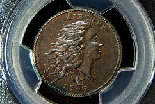 Gem Mint State 1793 Wreath Cent, the Next Million Dollar Cent, Acquired by Tom Pilitowski