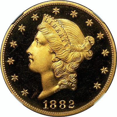 1882 20 ngcpr Gardner Coin Auction Kicks off Summer In Grand Fashion Powering To Nearly $20 Million!