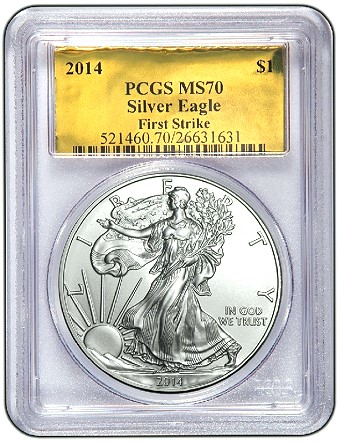2014 ase pcgs gold CoinWeek Silver Coin Giveaway #27