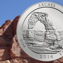 archesquarter1 125x125 Arches National Park Quarter Released at Utah Ceremony