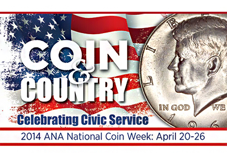 ANA National Coin Week Winners Announced