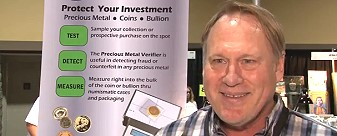 david blau Precious Metal Verifier Available to Help Determine Genuine Gold & Silver Items. VIDEO: 4:17