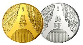 eiffel coins New Eiffel Tower Coins Released by Monnaie de Paris. VIDEO: 2:44