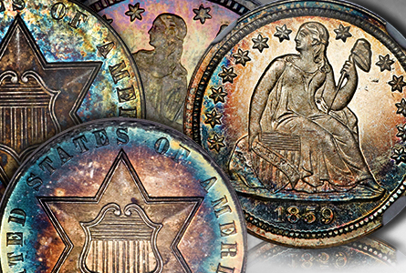 The Incredible Eugene Gardner Collection, part 3: Stunning, Classic U.S. Silver Coins