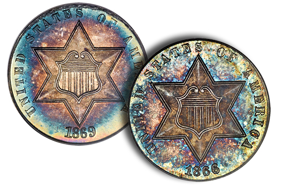 gardnertrime The Incredible Eugene Gardner Collection, part 3: Stunning, Classic U.S. Silver Coins