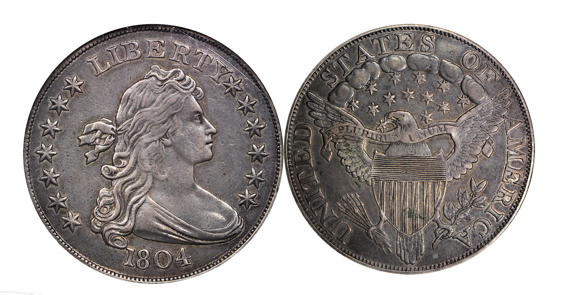 garrett Stacks Bowers Galleries to Sell Garrett 1804 Dollar (PR 55 NGC)