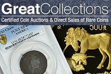 GreatCollections to Auction Rare Chain Cent Among Other Rarities