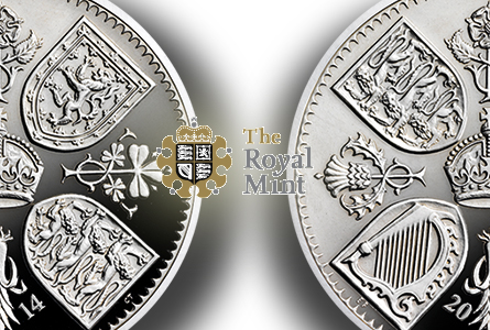 The Royal Mint celebrates Prince George's birthday with a special £5 coin