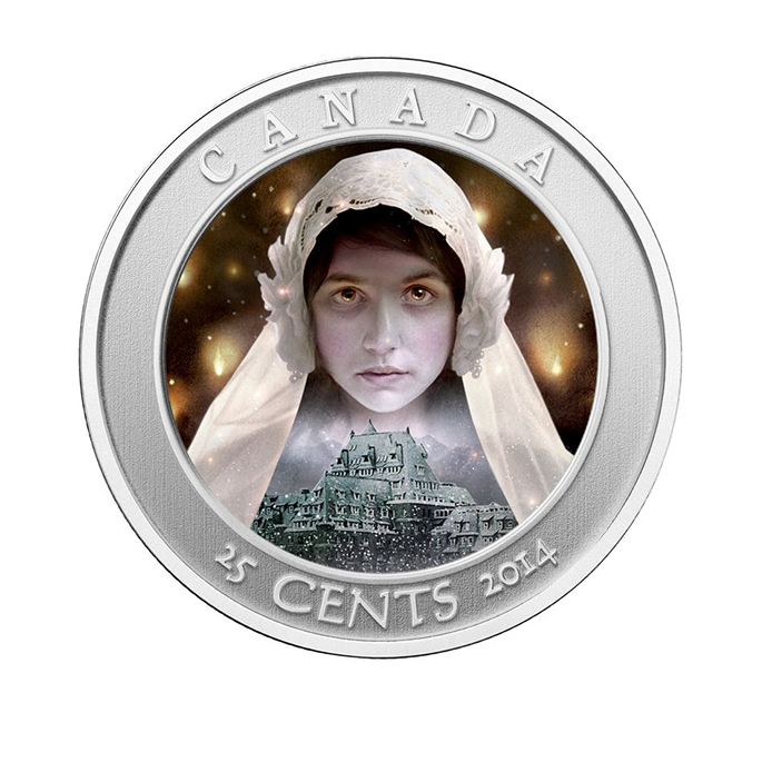 haunted4 Royal Canadian Mint Unveils Ghost Bride Coin