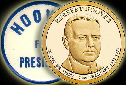 hoovercoin The Coin Analyst: Herbert Hoover Presidential Dollar Celebrates 31st President