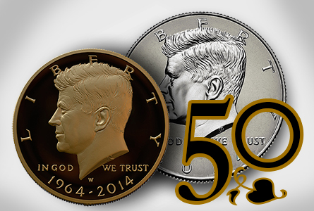 kennedy50 The Coin Analyst: Gold Kennedy Half Dollar to be Sold at ANA Show August 5 8