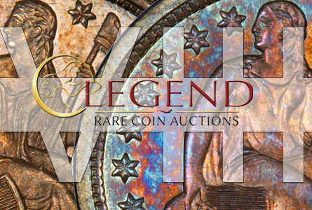 "Rare Coin Auction: Legend presents a ""legendary offering"" with The Regency Auction VIII"