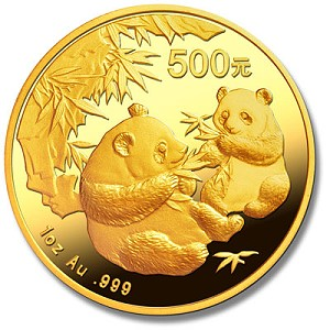 panda gold 1 Chinese Coins: It's a Panda, Panda, Panda World!