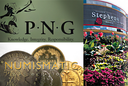 pngana 2014 PNG ANA Numismatic Trade Show: Free Admission + Gold Coin Giveaway
