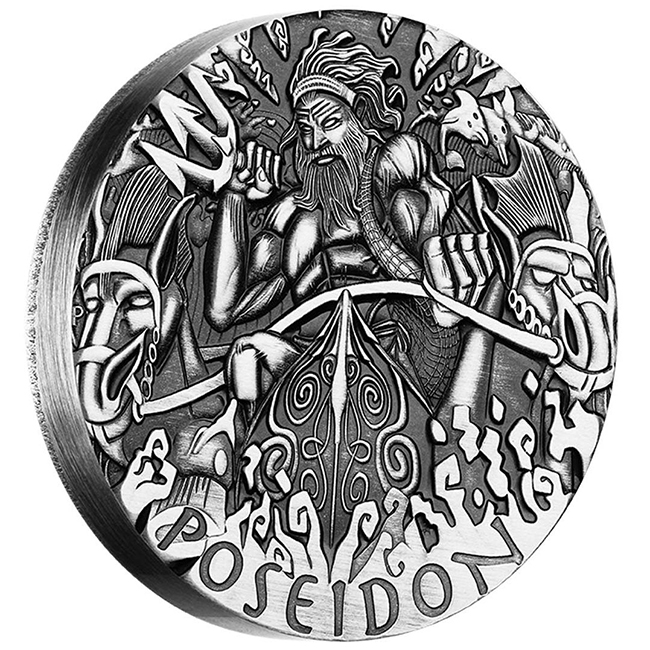 poseidon4 The Coin Analyst: Perth Mint's Launch of Poseidon Coin Frustrates Buyers