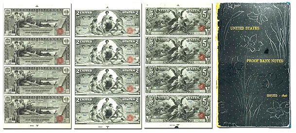 "Unique 1896 ""Educational"" Banknotes To Cross The Block At Stack's Bowers World's Fair Of Money Auction"