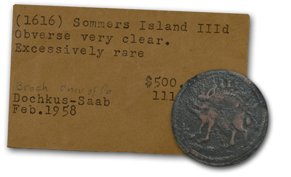 sommer3 The 1615 16 Coins of Bermuda (Sommer Islands): The First English Coins of North America