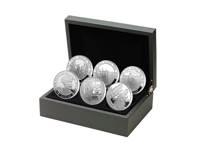 ukww1box The Royal Mint Launches World War I UK Coin Series