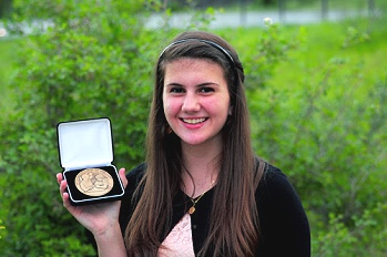 Peyton Souder named Outstanding Young Numismatist of the Year