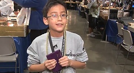 Young Coin Collector Shares His Excitement About the Long Beach Expo. VIDEO: 2:07