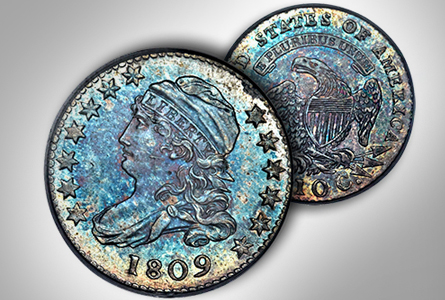 Dimes of 1809 – A Key in the Capped Bust Dime Series