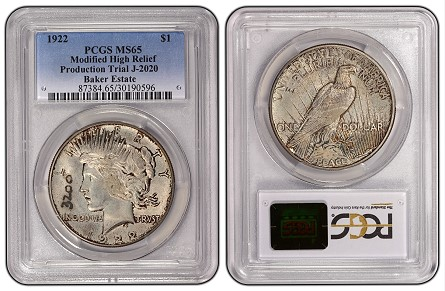 3200  PCGS Certifies Rare Transitional Peace Dollars From Former Mint Directors Estate