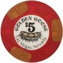 Golden Goose 125x125 Rare Golden Goose Casino Chip Sells for $75,000