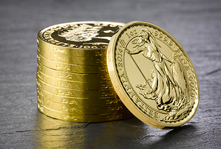 The Royal Mint Edge Strikes Gold Britannia Bullion Coins for First Time