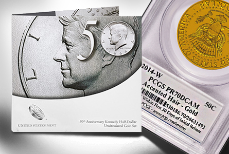 Numismatic Quick Hits: Brisk Sales for Kennedy Sets + New PCGS Kennedy Label + Upcoming First Reads