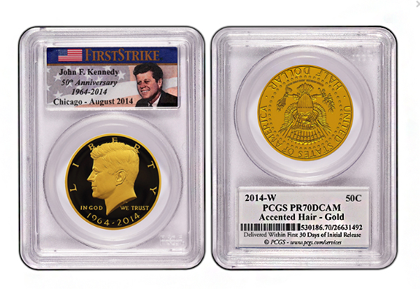 accenthairpcgs Numismatic Quick Hits: Brisk Sales for Kennedy Sets + New PCGS Kennedy Label + Upcoming First Reads
