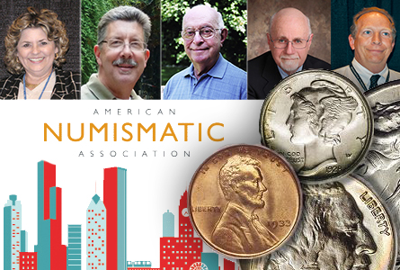 American Numismatic Association Announces 2014 Honorees