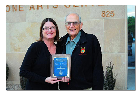 anagrovekiick1 ANA News: Association Presents Award to Numismatic Educator Keith L. Grove