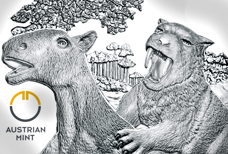"Austrian Mint's ""Back from the Dead"" Series Returns with ""Tertiary Period"" Silver Coin"
