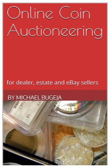 bugejabook Michael Bugejas New Book Offers Tips to Sell Coins Online